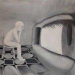 глаз и человечек