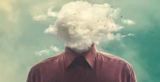 мужчина без головы