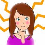 девушка с больным горлом
