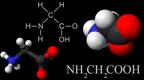 молекула глицина