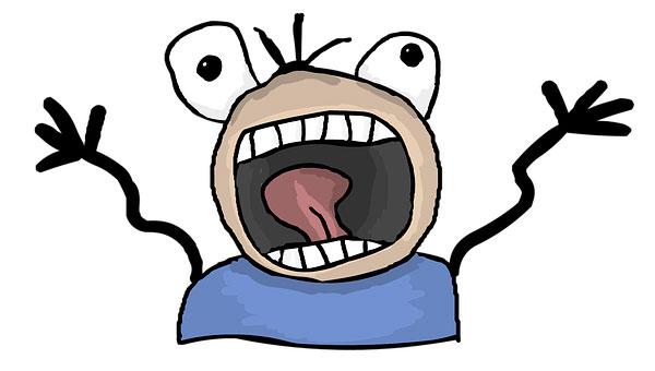 изображение паникующего человечка